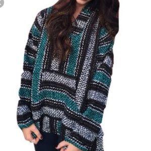 baja hoodie. worn twice. accepting offers. 💙